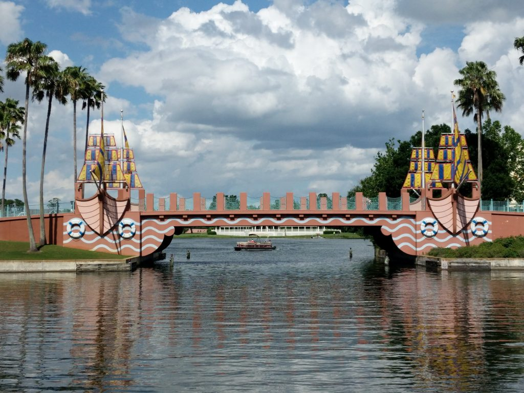 The Walkway to Epcot